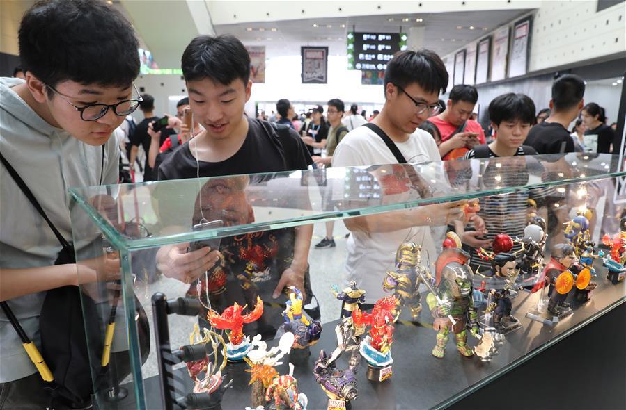 中国国际动漫游戏博览会在上海揭幕