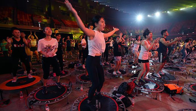 """上海""""全民健身日""""活動啟動 """"最美健身步道""""揭曉"""