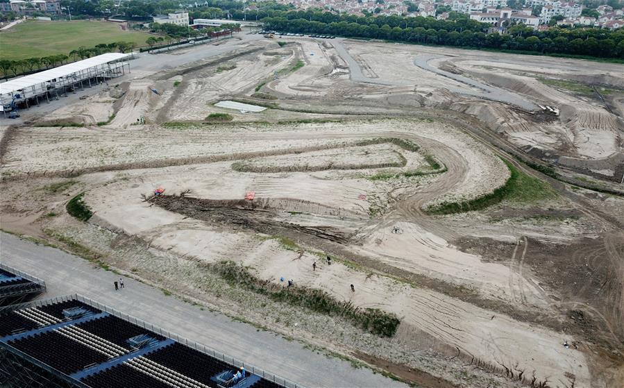 探访上海奉贤世界摩托车越野锦标赛场地