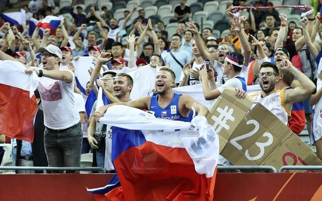 篮球世界杯小组赛:捷克队胜土耳其队