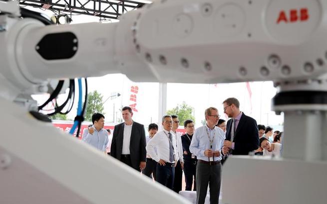 ABB机器人未来工厂奠基仪式在上海举行