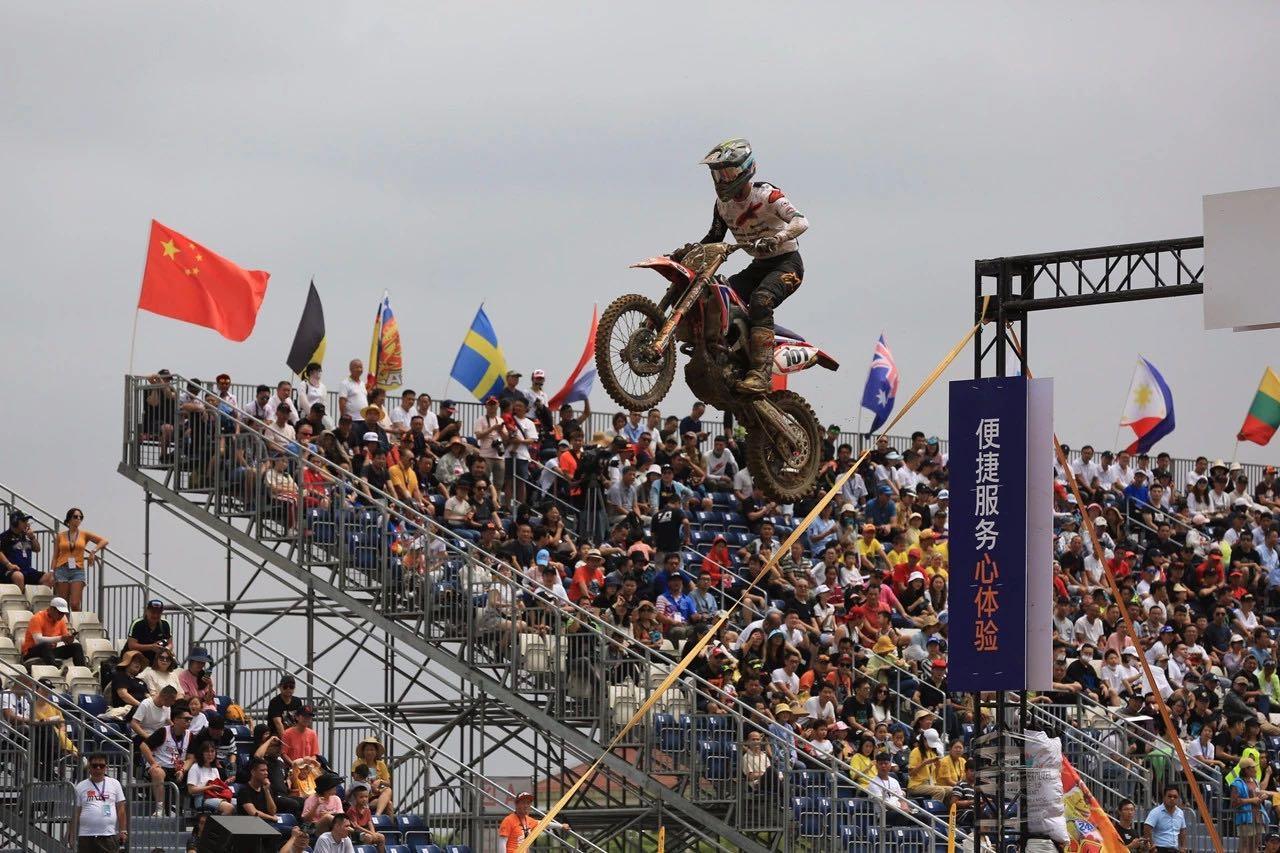 世界摩托车越野锦标赛在沪收官