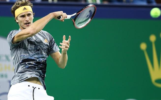 網球上海大師賽:茲維列夫晉級