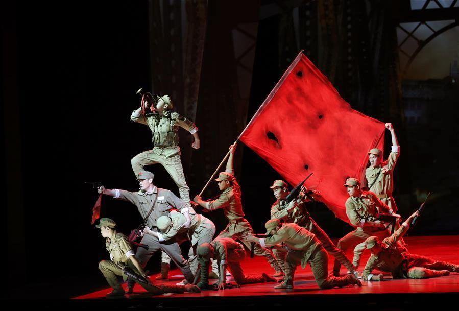 第21屆中國上海國際藝術節開幕大戲《戰上海》精彩上演