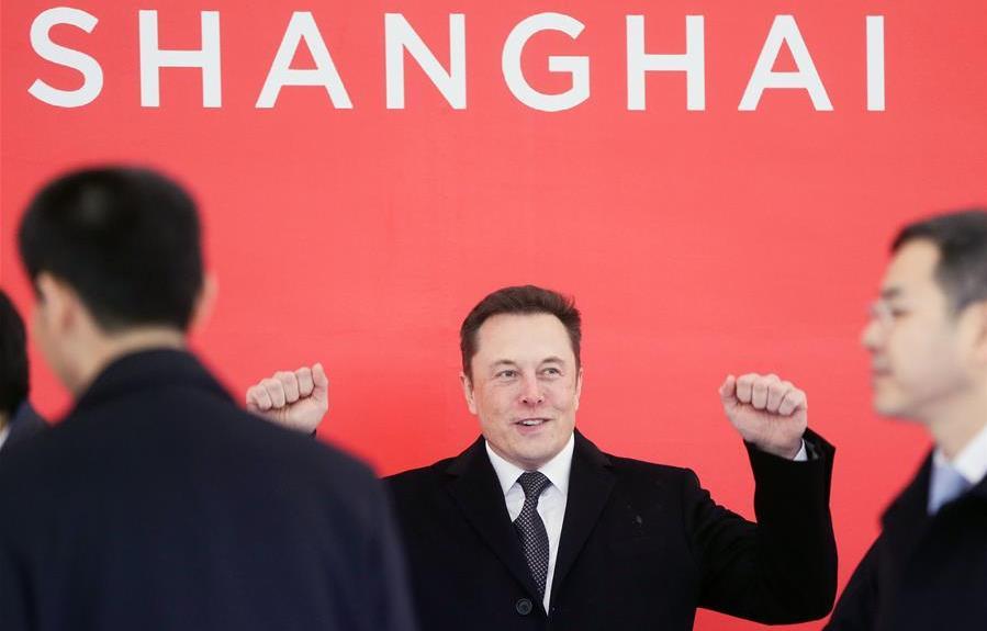 """跑出""""上海速度"""" 特斯拉上海工厂早于预期试生产"""