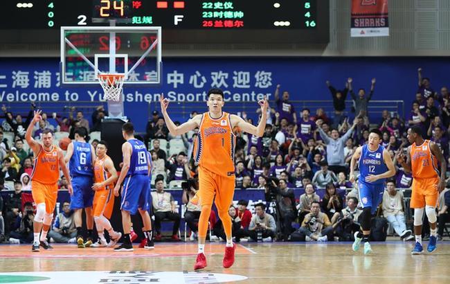 CBA常规赛:上海久事胜天津先行者