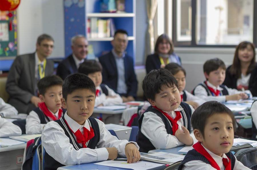 2019-2020新一轮中英数学教师交流项目在沪启动