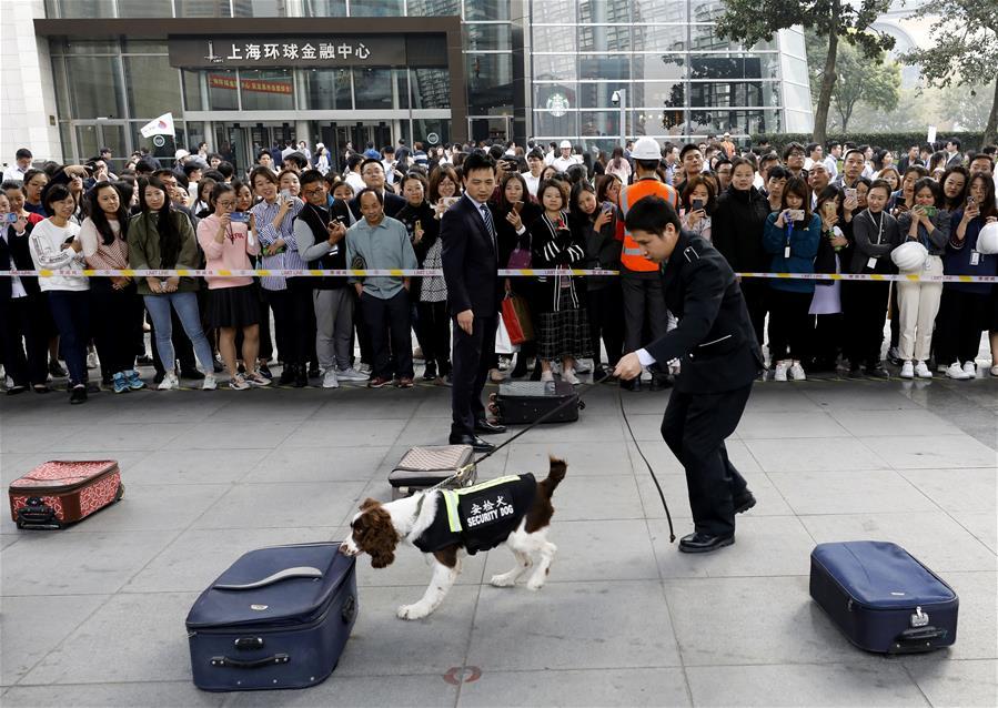 上海环球金融中心举行2019年度突发事件处置综合训练