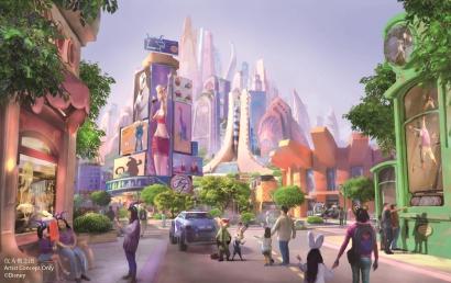 上海迪士尼第八大主题园区开工