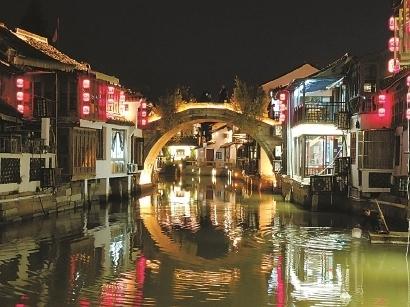 """上海朱家角古鎮:給游客個""""留下來""""的理由"""