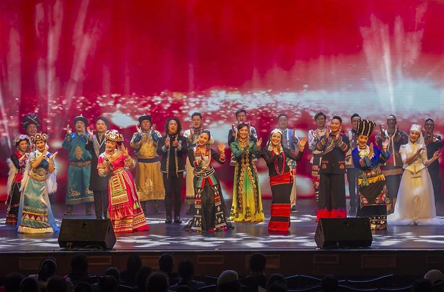 """""""少数民族声乐表演人才培养""""项目新年音乐会在上海举行"""
