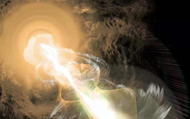 """天文学家成功绘制宇宙中最遥远的耀变体""""倩影"""""""