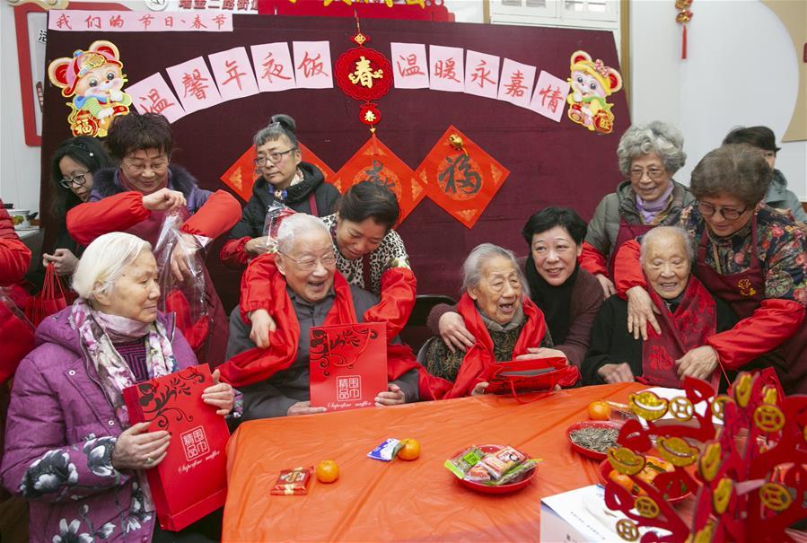 上海:温馨年夜饭