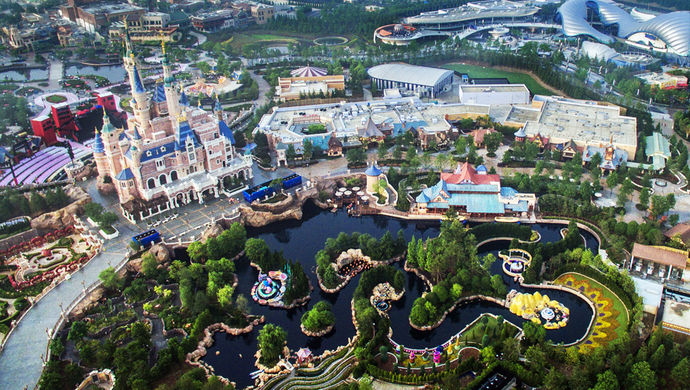 """上海迪士尼将推迟2020年度春季的""""奇跑""""赛事报名"""