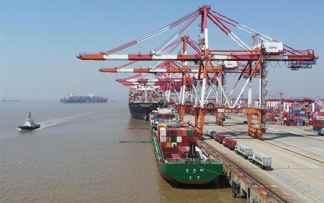 上海:洋山港复工复产加快