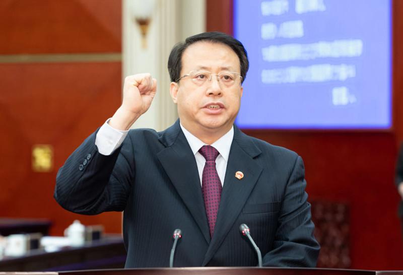 """上海代市长龚正:""""喝了浦江水,就是上海人"""""""