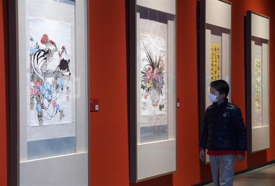 上海程十發美術館全部展廳正式恢復對外開放