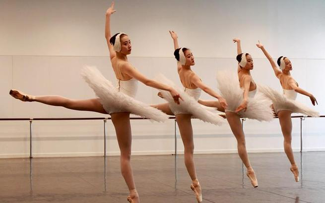 上海芭蕾舞团举行年度考核