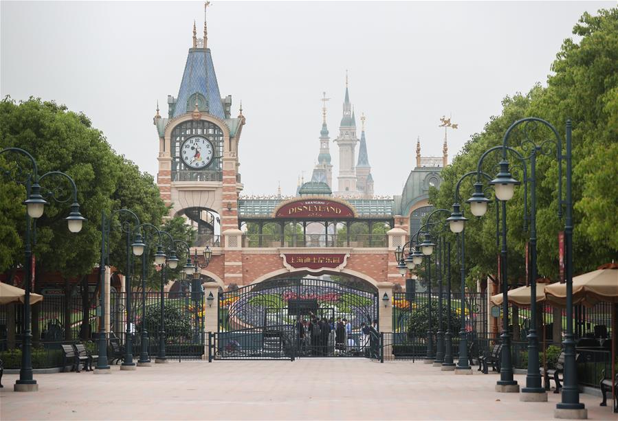 上海迪士尼樂園將于11日重新開放