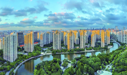 """上海环线内最大住宅小区守住防疫""""三个零"""""""