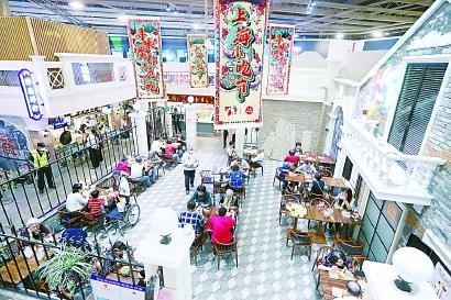 楼下菜场楼上活动中心,上海这个集市值得逛半天
