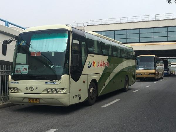 浦東機場長途客運線路陸續恢復