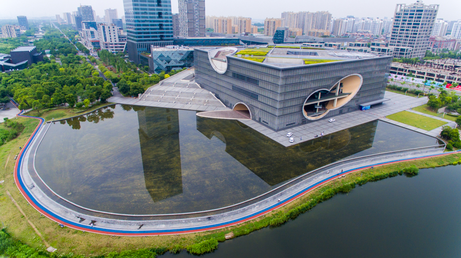 嘉定马陆镇打造远香湖党建主题公园