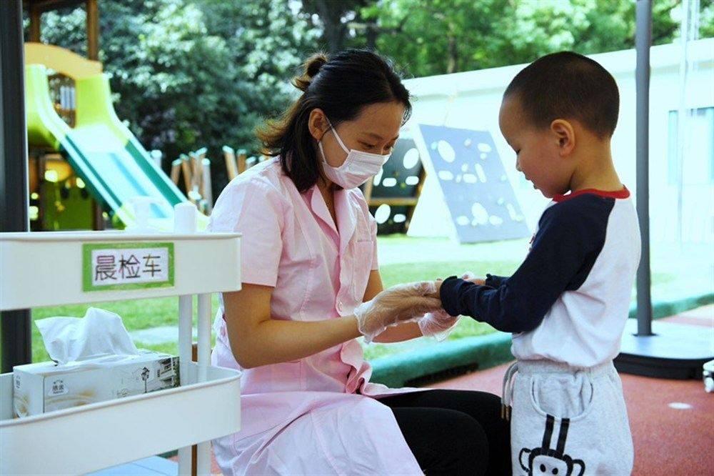 """最小""""神兽""""也归""""笼"""" 上海幼儿园开园"""