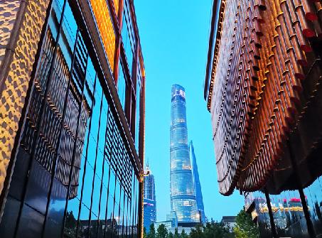 """添彩美丽夜上海 这个分时段步行街有点""""酷"""""""