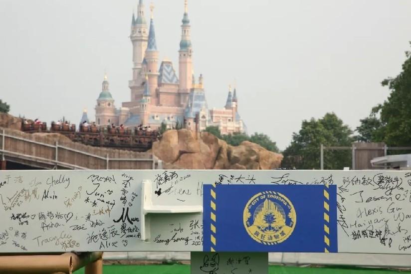 """上海迪士尼乐园""""疯狂动物城""""主题园区正式启动地面建设"""