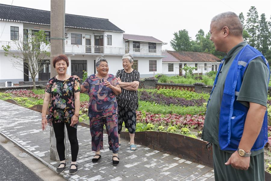 上海崇明乡村环境治理见闻:跟废旧小窝棚说再见