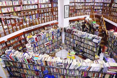 """复旦旧书店20年:""""为读者找书,为书找读者"""""""
