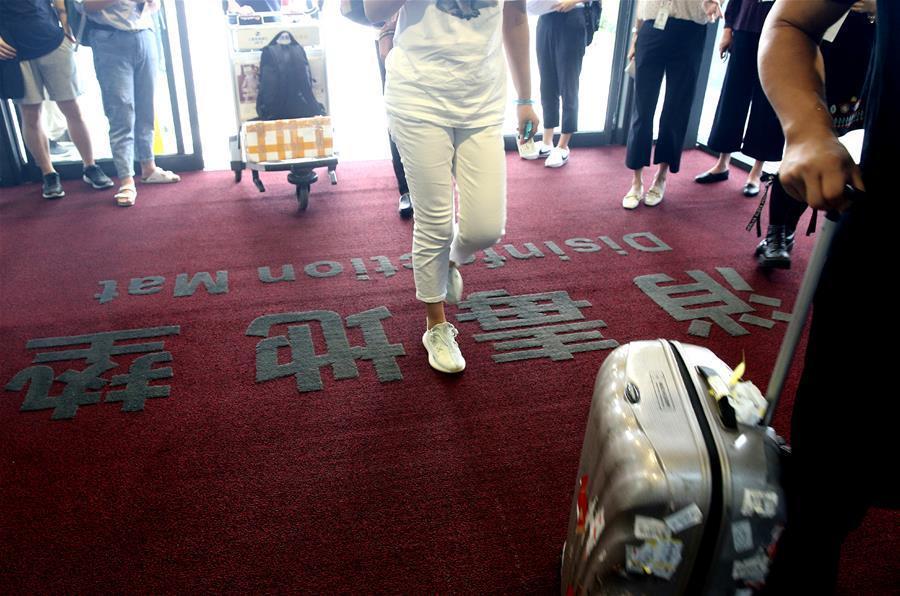 上海虹桥机场实施常态化卫生防疫标准