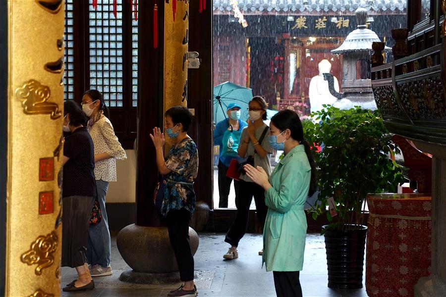 上海龍華寺有序恢復開放