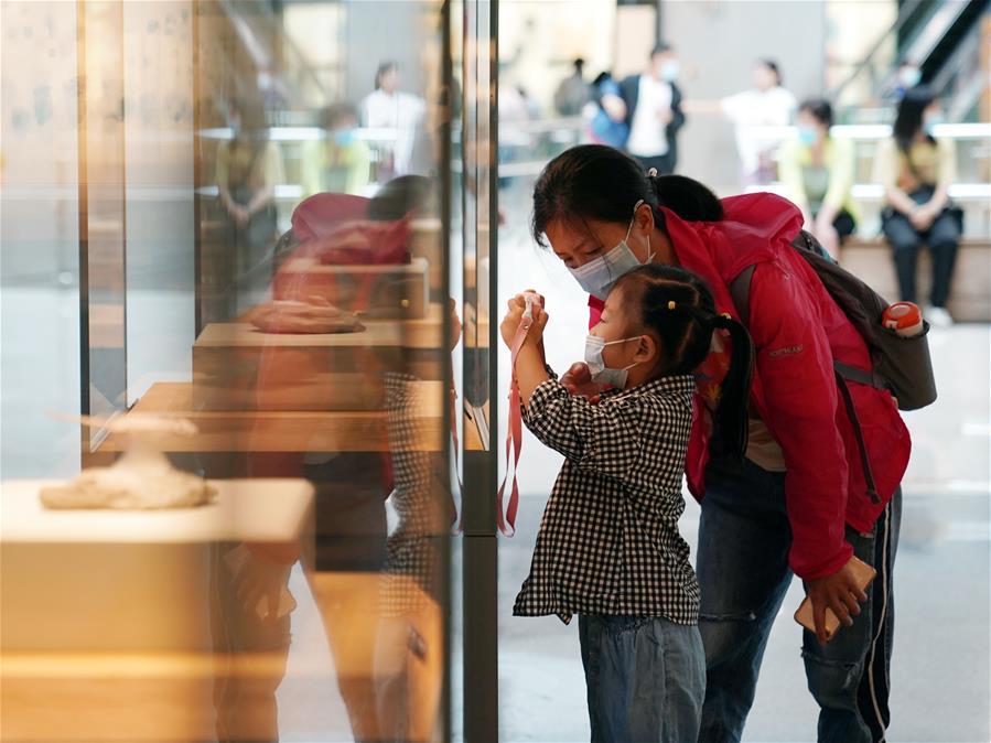 """上海:自然博物館迎來""""暑期檔"""""""