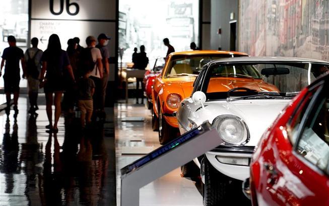 """上海:博物館裏看""""香車"""""""