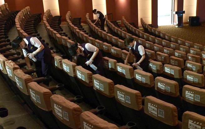 上海部分電影院做好復工準備