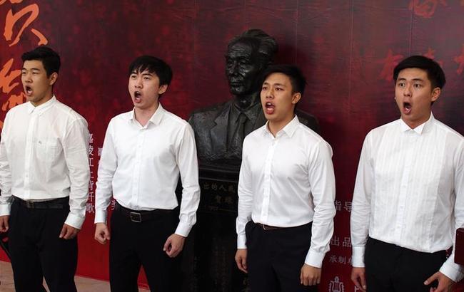 8K全景声实景原创歌剧电影《贺绿汀》在沪开机
