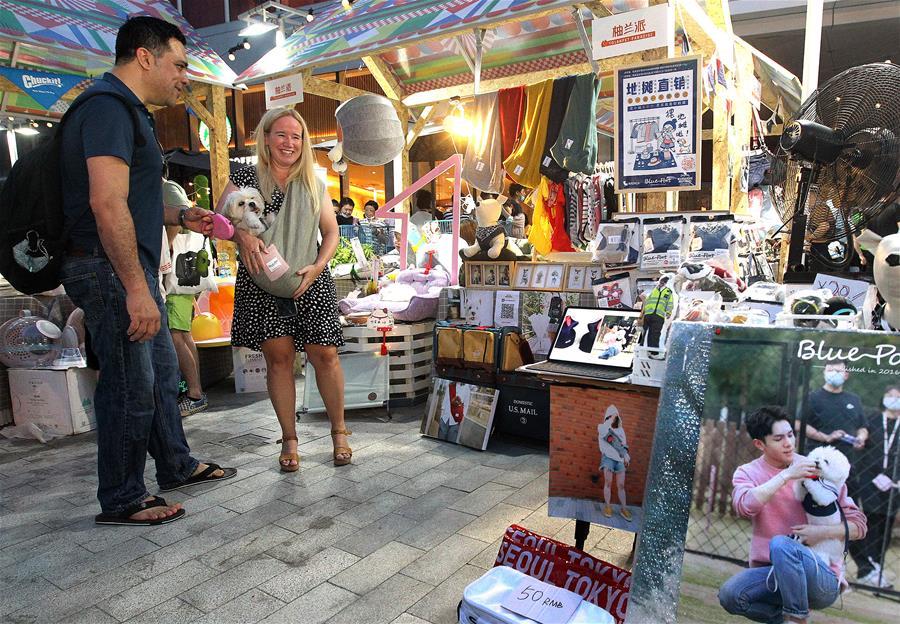 上海:前滩市集助力夜经济