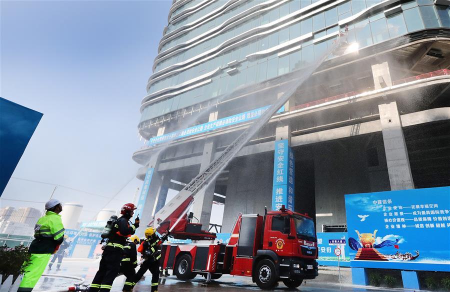 上海舉行建設工程事故應急處置綜合演練