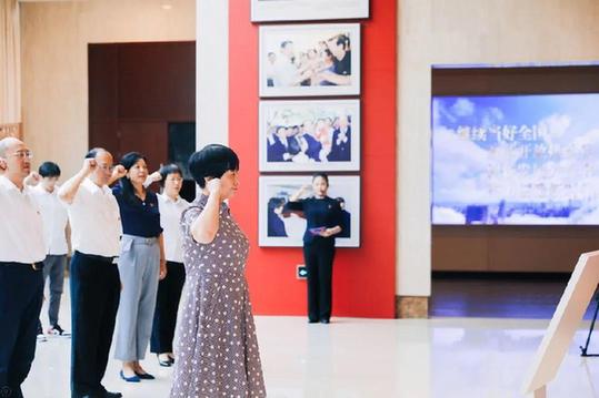 """上海凝聚力工程博物館開講""""情景黨課"""""""