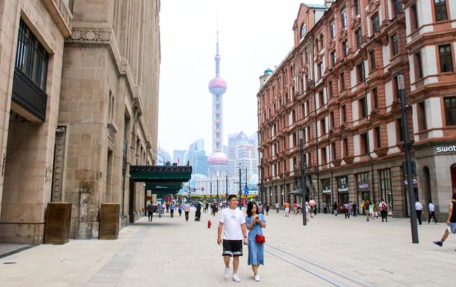 """""""中華商業第一街""""南京路步行街東拓""""搶鮮""""看"""