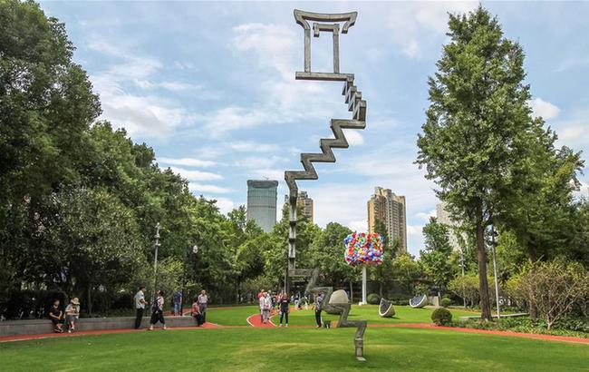 2020中國·上海靜安國際雕塑展開幕
