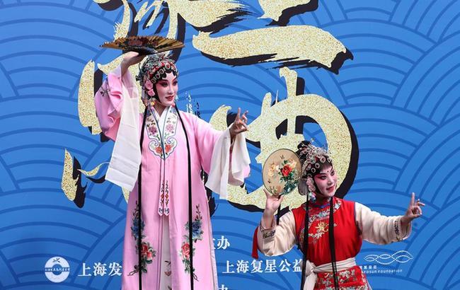 上海:豫园昆曲迎中秋