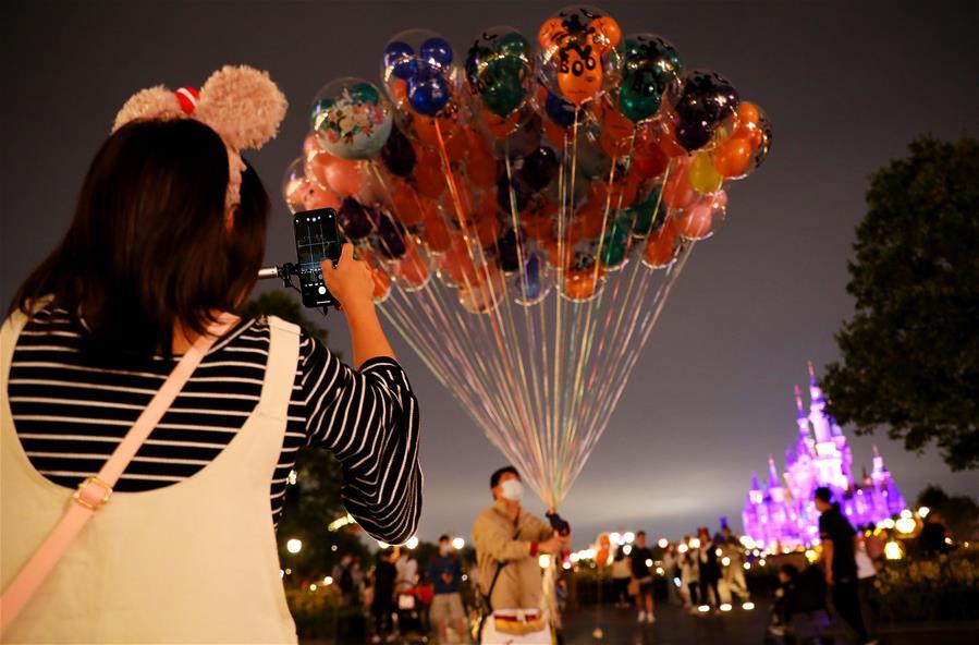 上海:城市夜色美