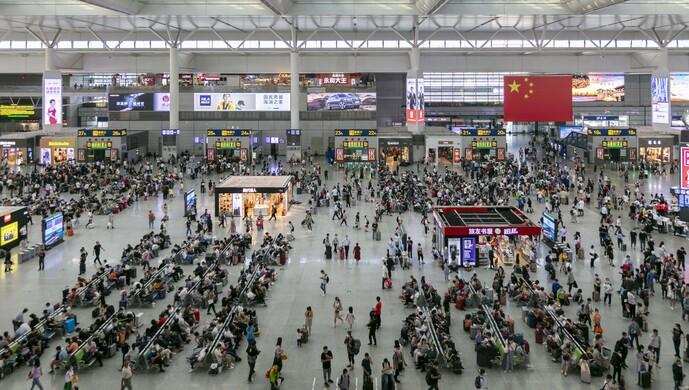长三角铁路国庆期间客流突破2600万人次