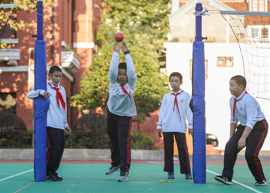 全民健身——初中生的体育节