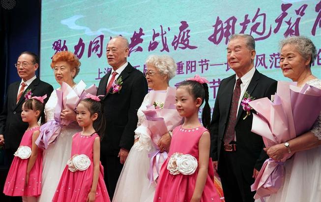 上海:老年大学学员迎重阳