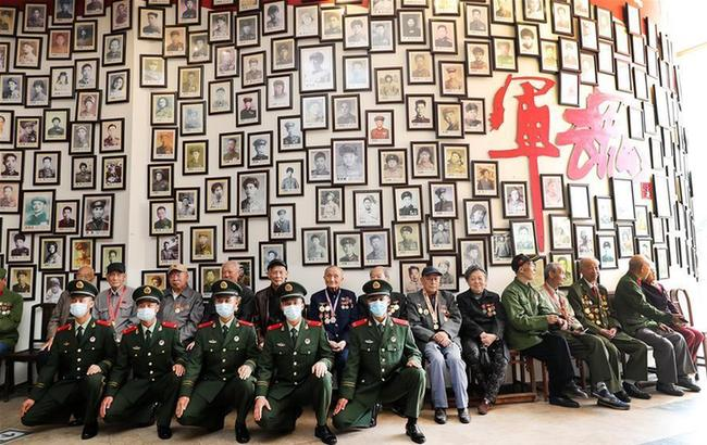 上海举行纪念中国人民志愿军抗美援朝出国作战70周年活动