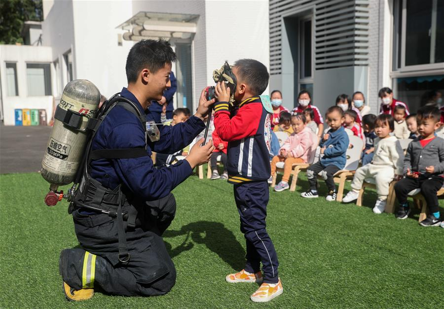 上海:消防安全进校园